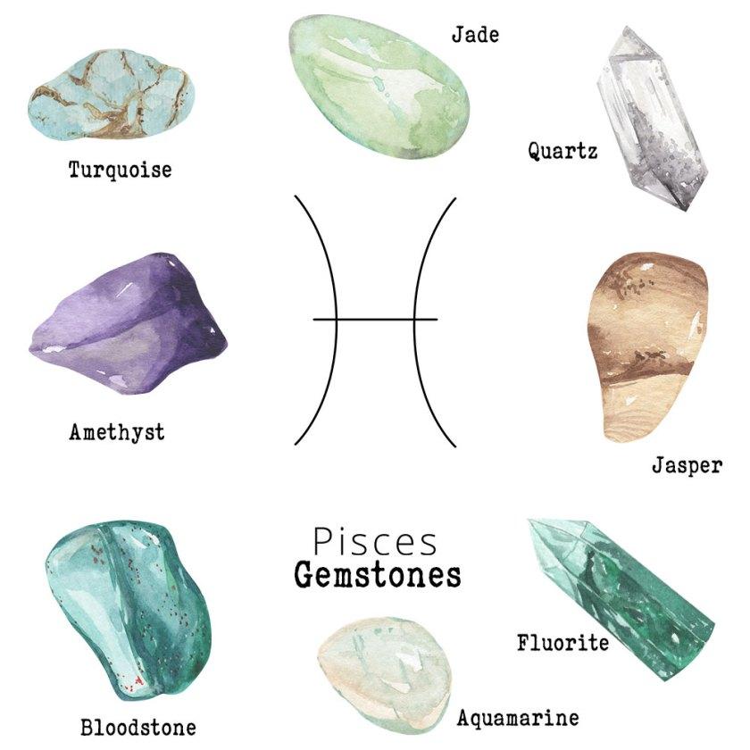 Pisces-Gemstones