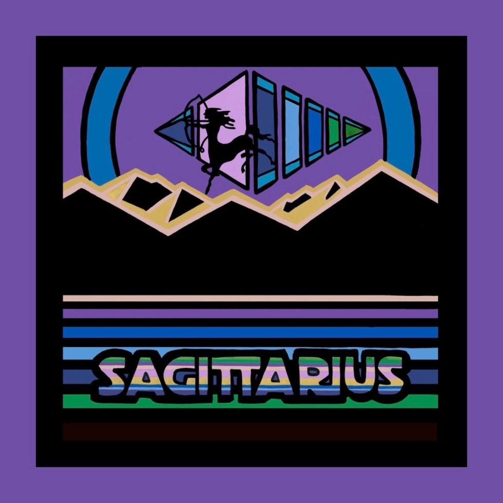 Sagittarius artwork by Chris Freyer
