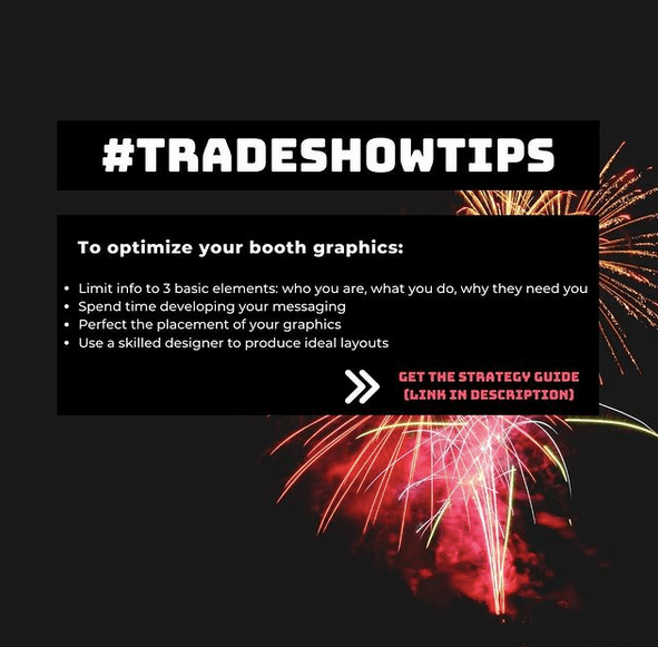 Trade show tips 4 by Chris Freyer
