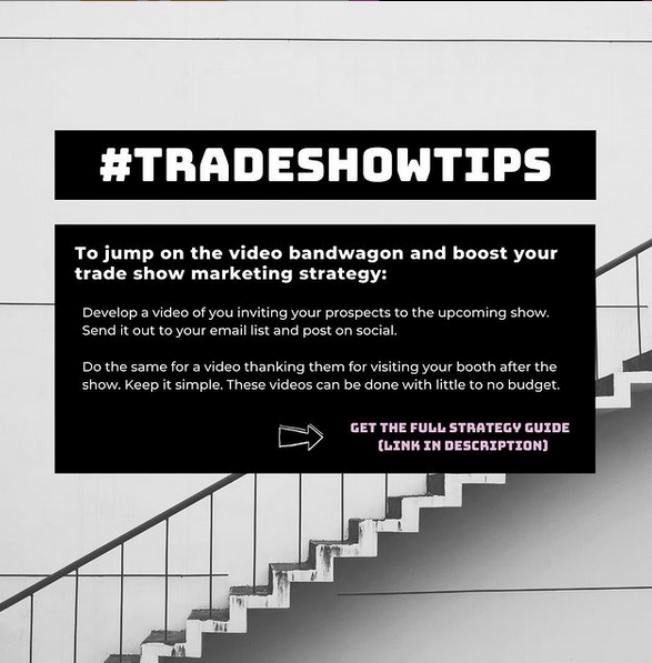 Tradeshow tips 2 by Chris Freyer