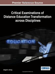 Critical Examination of Distance Education Transformation across Disciplines