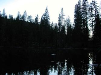 granite-lake-silloutte