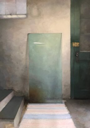 Christopher Gallego, Painting Tutorials, Image: Annette Voreyer, Student