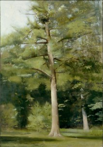 2009, oil on wood panel, 29 x 19 in.