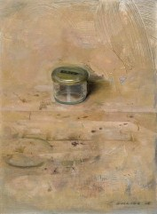 Christopher Gallego, american, b. 1959. painting title: Small Studio JAr