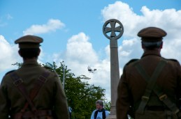 Thorpe Le Fallows Memorial flypast