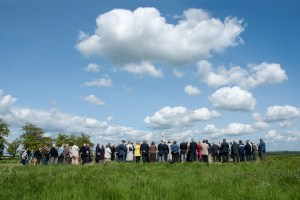 Thorpe Le Fallows Memorial re-dedication