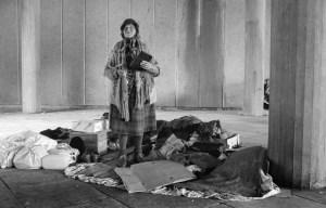 Homeless Woman - Social Work Today
