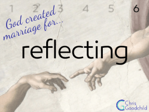 Marriage is for reflecting