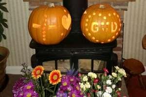 Pumpkin carving, thanksgiving, love, christian