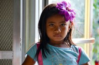Joricelle, one of the kids from my host family in Concepcion. Beautiful, lovely little girl... and a great dancer!