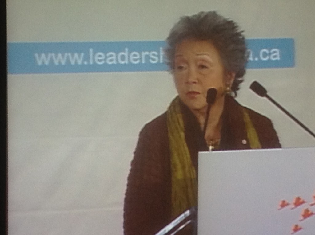 The Right Honourable Adrienne Clarkson