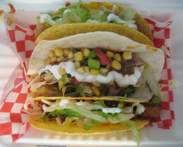 Gecko Bus - Hard and Soft Shell Tacos