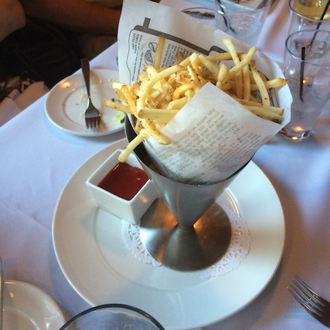 McGill's Cafe and Restaurant - Pomme Frites