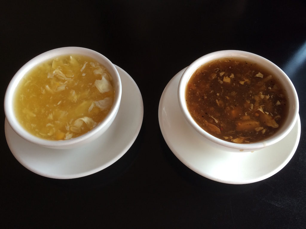 Fu-Sing - Egg Drop Soup & Hot and Sour Soup