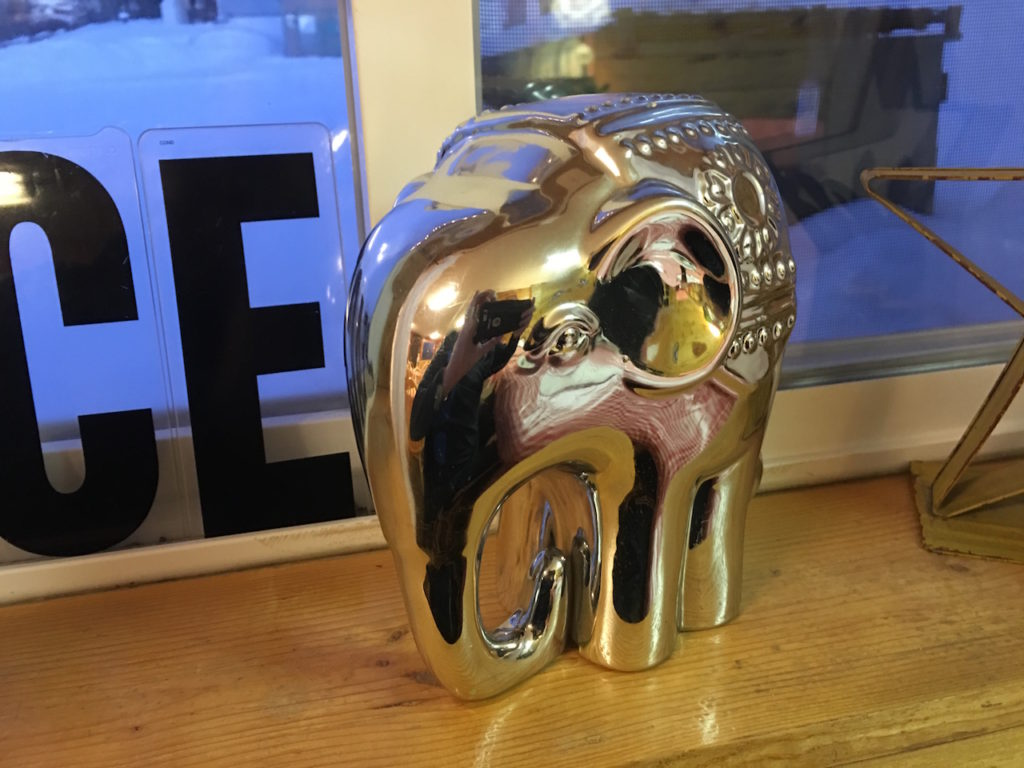 Mama B's Kitchen - Chrome Elephant