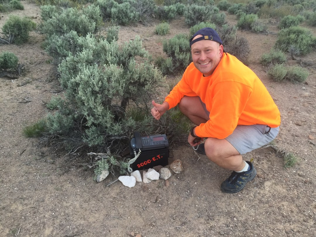 The 2,000th cache of the E.T. Highway - there are more!