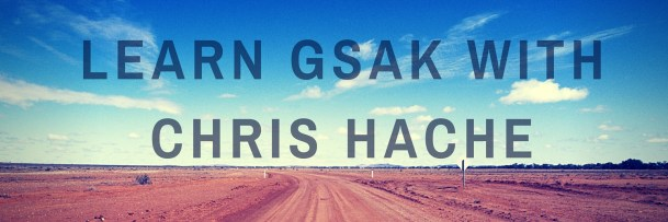 Learn GSAK with Chris Hache