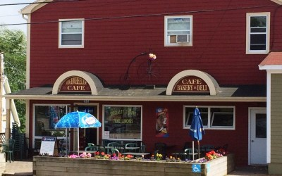NNS 019 – Highwheeler Cafe in Baddeck, Nova Scotia, Canada