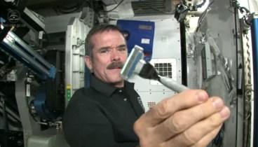 Shaving in Space