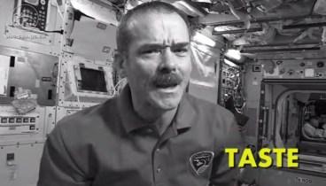 The Five Senses in Space: Taste