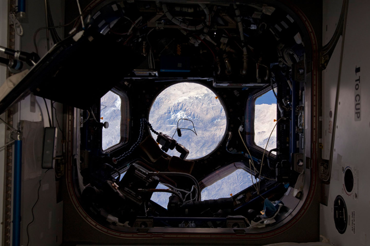 The Cupola view