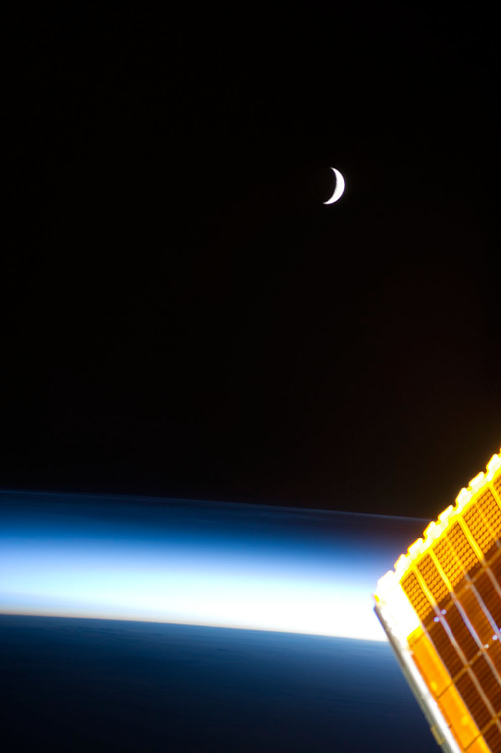 The Moon at sunrise
