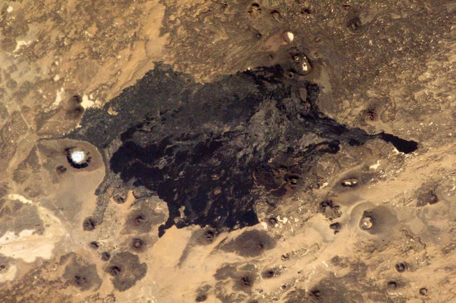 The Saudi Arabian desert