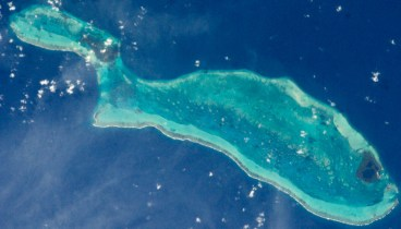 Island Shaped Like A Fish
