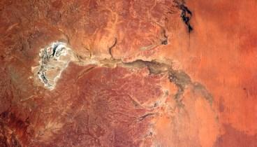 A dry river, Australia