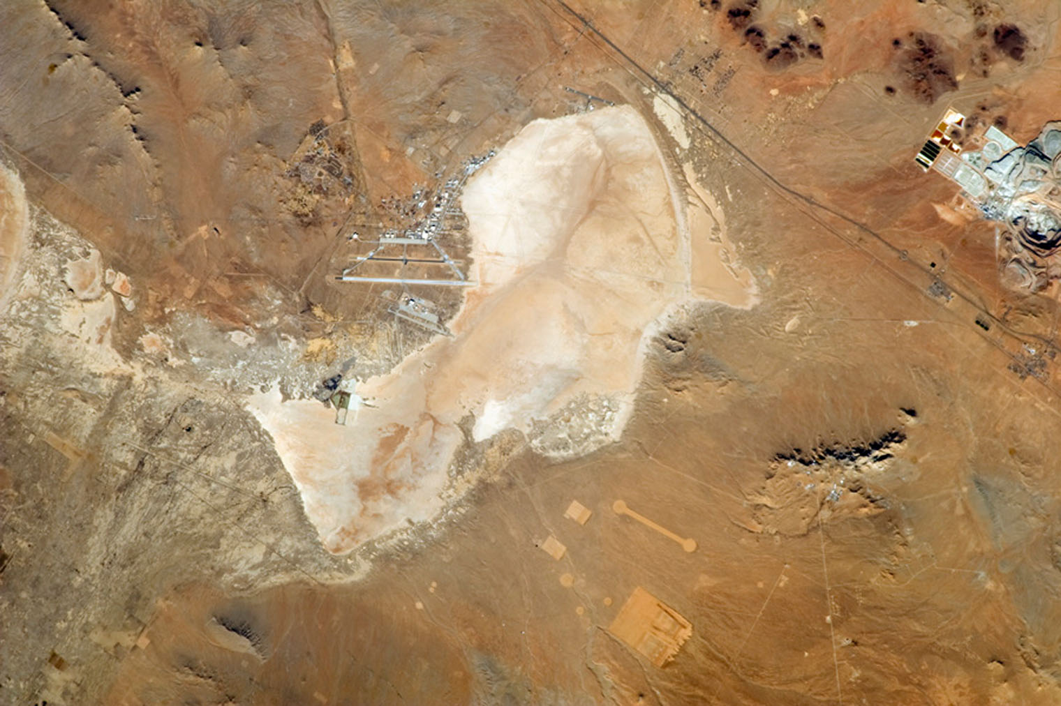 Dry lakebeds, California, USA