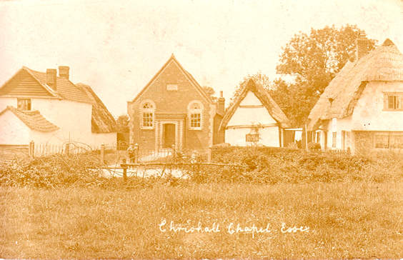 History of Chrishall Methodist Chapel
