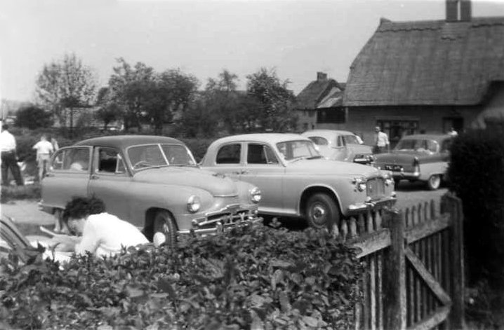Red Cow Car Rally 1960s