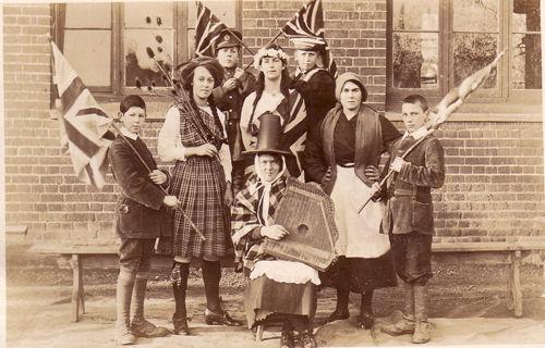 Saving the British Empire! School 1918
