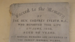 Rev. Godfrey Everth's Book of Poetry