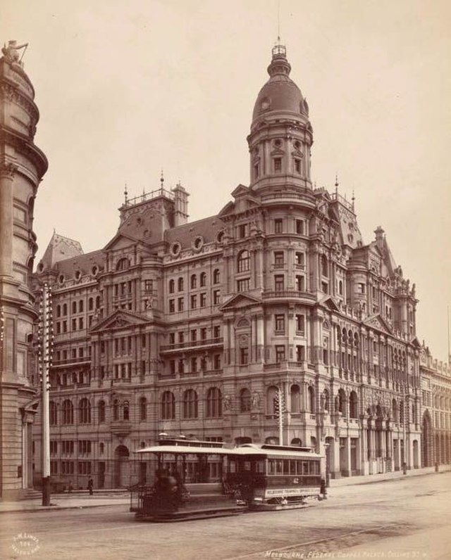 Melbourne Australia 1890s