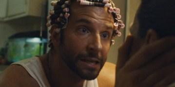 Bradley Cooper in David O. Russell's American Hustle.