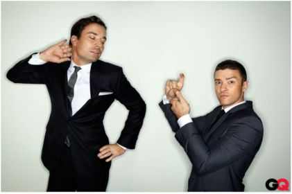 Jimmy Fallon and Justin Timberlake GQ