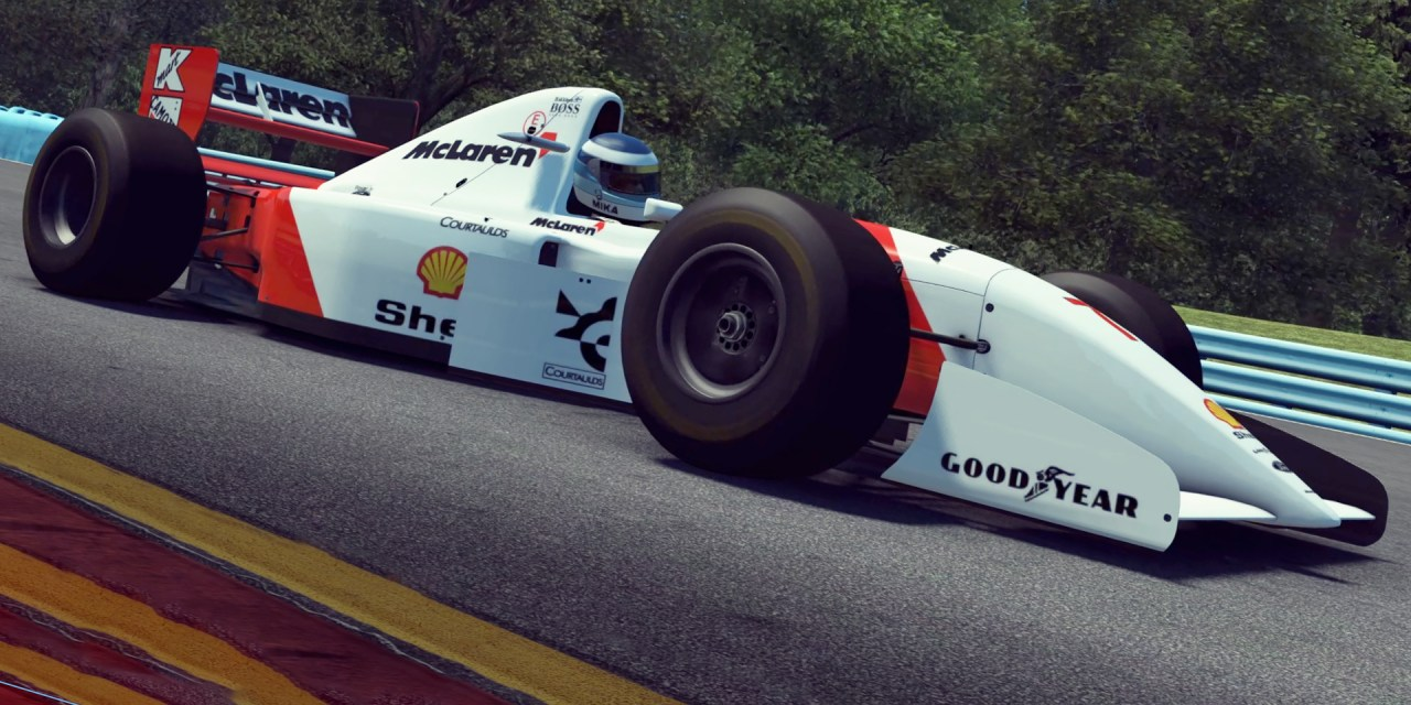McLaren MP4/8 for rFactor 2