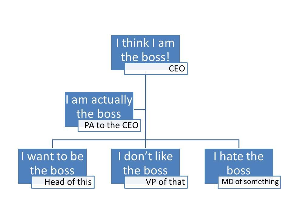 joke company hierarchy