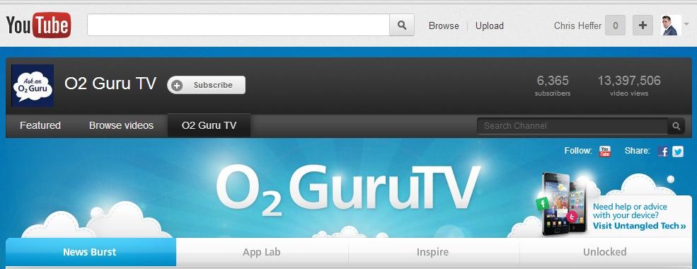 o2 guru tv screen shot