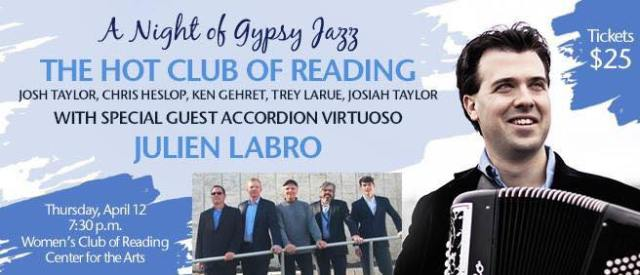 hot club of reading with julien labro