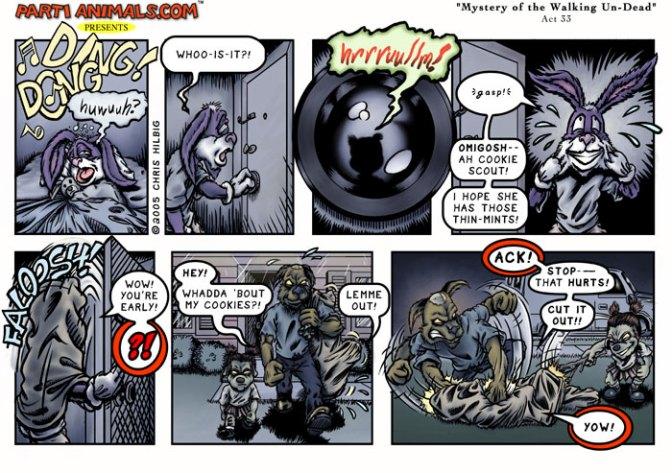 Sample from VagueComics.com