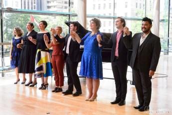 Members of the Ensemble Studio