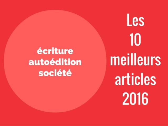 10 meilleurs articles 2016