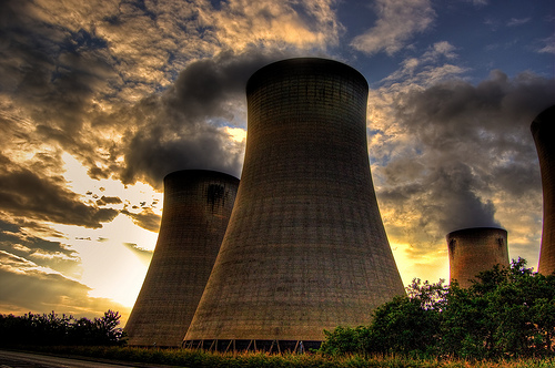 Drax coal-fired power station in North Yorkshire: a Victorian relic