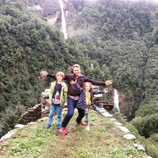 Beathan , Ili and I in Ticino