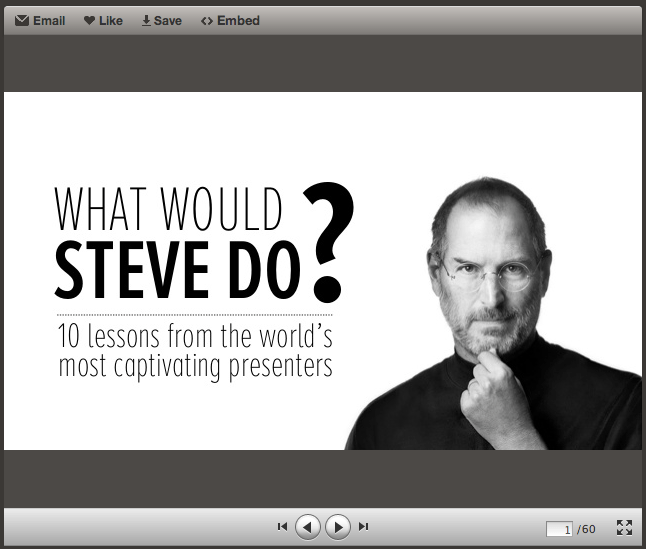 What would Steve do?