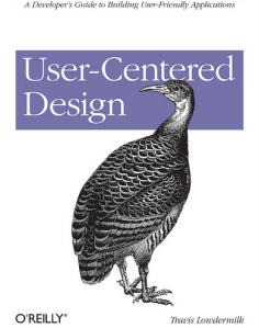 User-Centered Design A Developer's Guide to Building User-Friendly Applications