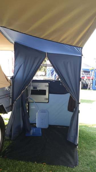 Aussie Swag Camper Ensuite with Hot Water